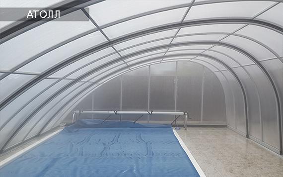 высокое укрытие для бассейна